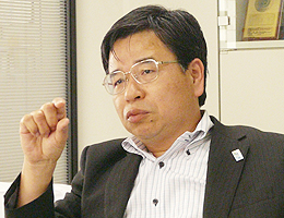 選挙管理委員会 事務局長 影山竹夫氏