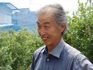 小平市にある島村ブルーベリー園の園主・島村速雄さん