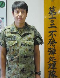 第1処理班長 1等陸尉 髙橋 利仁