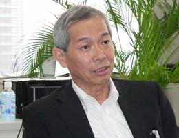 東京都水道局長 吉田永氏氏