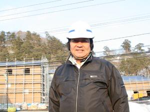 週に一度は福島に足を運んでいる岩本社長