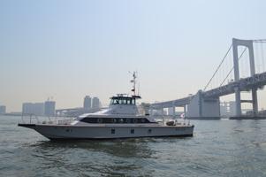 東京湾岸警察署 警備艇『ふじ』