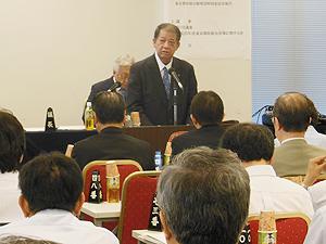 東京都医師会の最高議決機関である代議委員会