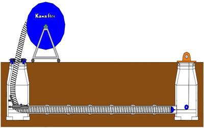 『KanaSlip工法』の設置イメージ。