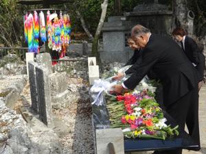 東京都南方地域戦没者追悼式に出席