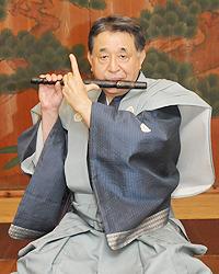 能楽師一噌流笛方 藤田 次郎さんさん