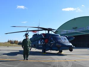 救助機「UH-60J」