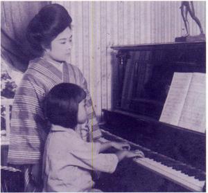 ピアノを始めた6歳の頃