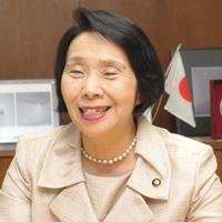 三鷹市長 清原慶子さんさん