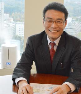 ライフネットワーク株式会社の代表取締役社長の有泉氏