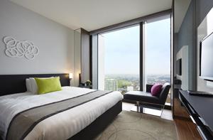 二子玉川エクセルホテル東急のシティービュー・ダブルの客室