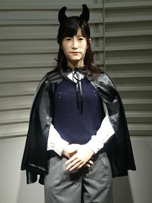 (株)東芝が開発した「地平ジュンこ」
