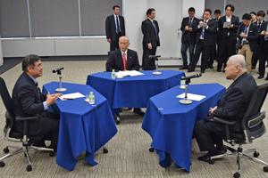 東京オリンピックの3者会談
