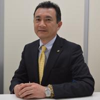 ロンシール工業株式会社 執行役員開発事業部長の常盤昭夫さん