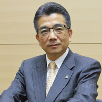 株式会社東芝執行役上席常務インダストリアルICTソリューション社社長、錦織弘信氏
