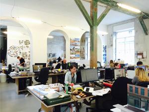 DGT時代のパリのオフィス