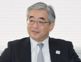 政策企画局長 長谷川 明氏氏