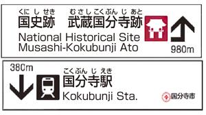 観光案内看板のイメージ