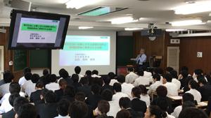 昭和大学医学部での講義の様子