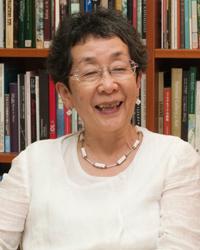 国立西洋美術館 館長<br /> 馬渕 明子さんさん