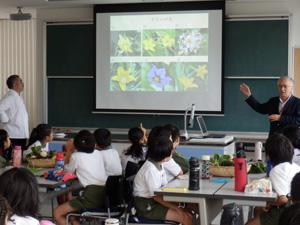 東京都市大学付属小学校で実施している三國清三シェフによる食育プログラム「ミクニレッスン」にて
