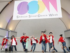 昨年12月に行われた「Shibuya  StreetDance  Week 2017」