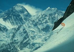 1970年のエベレスト大滑降  撮影/小谷 明