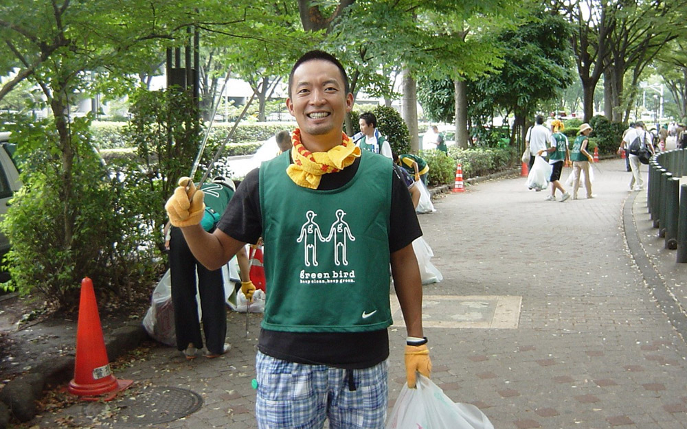 green birdに参加する長谷部渋谷区長