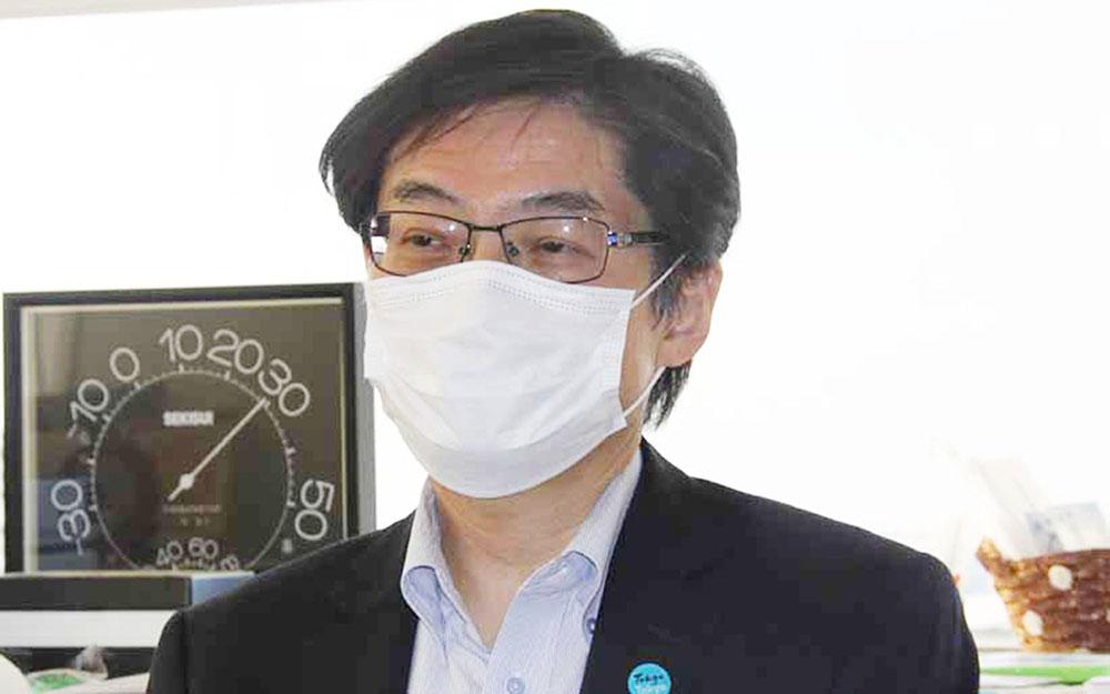 選挙管理委員会事務局長 桃原慎一郎氏