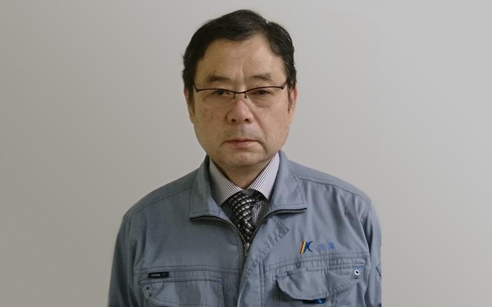 株式会社金門光波開発部の佐藤毅さん