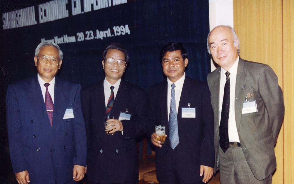 1994年ハノイで開催されたGMS会議