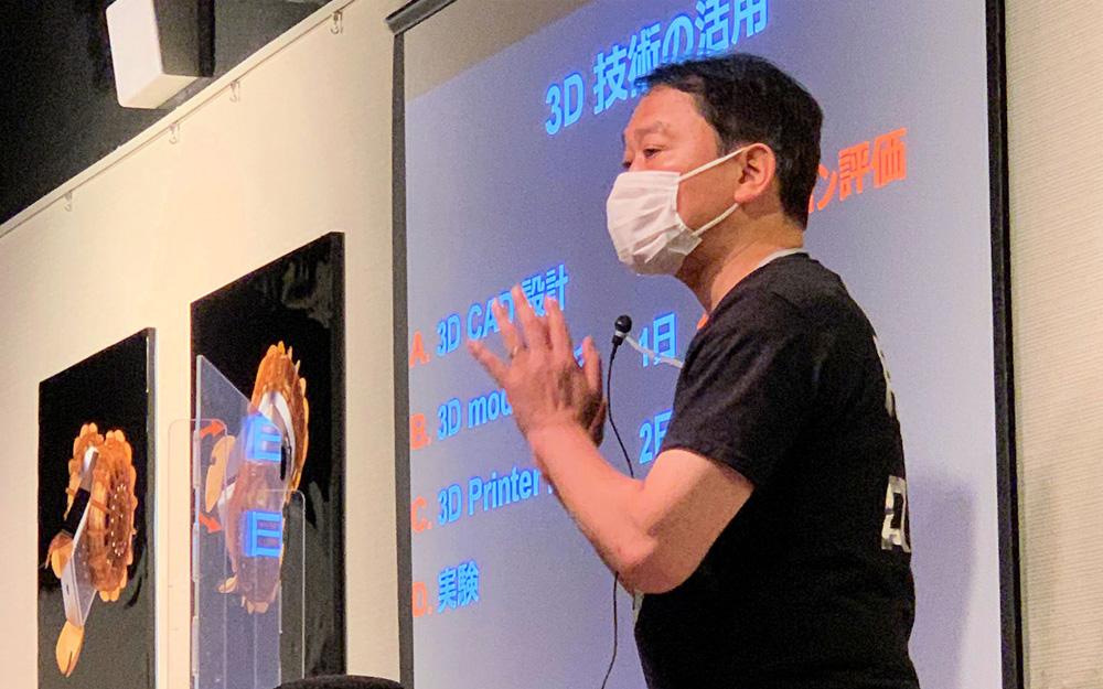 今年7月東京の青山ブックセンターで「宇宙ビジネスのABC」と題したイベントを開催